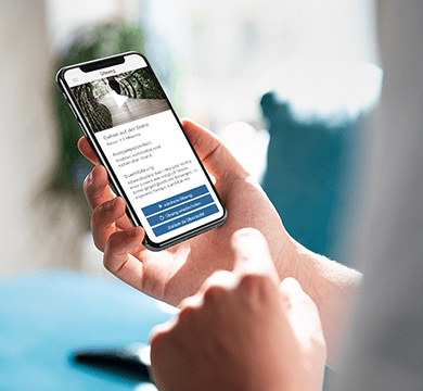 Trendmarke entwickelt innovative Nachsorge-App