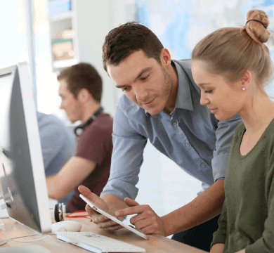 Duale Ausbildung bei Trendmarke