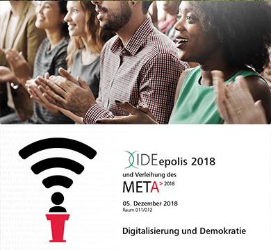 Medienethik-Award 2018 - Digitalisierung und Demokratie