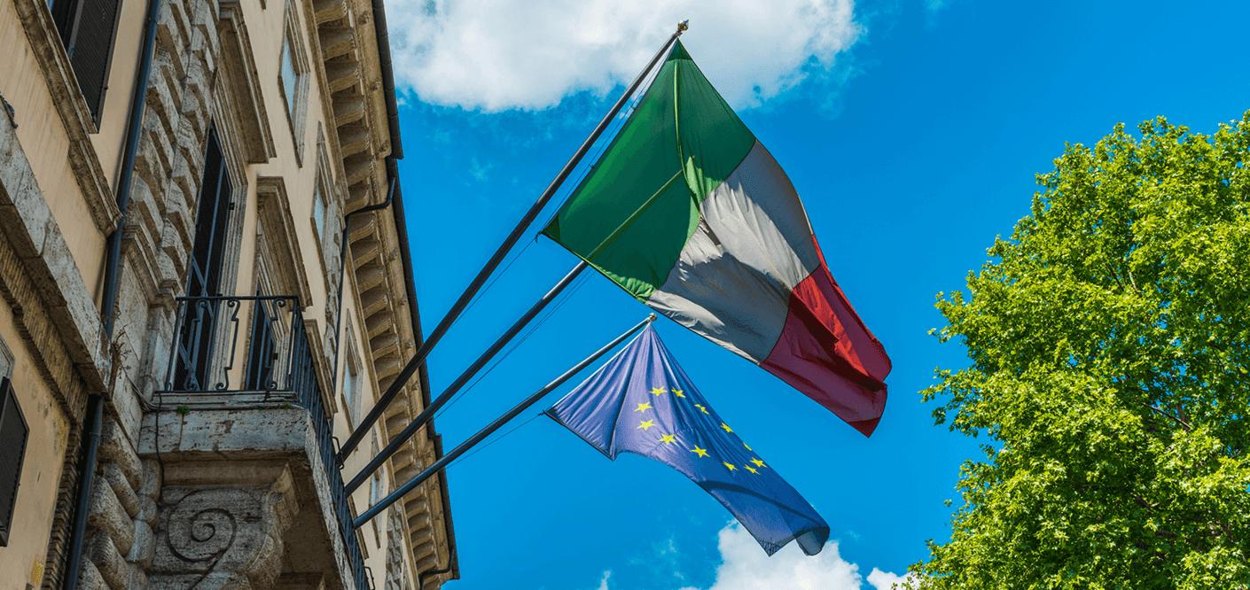 Trendmarke und Italienische Agentur für Außenhandel <br> Moderne Handelsförderung