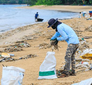 Gemeinsam für plastikfreie Ozeane